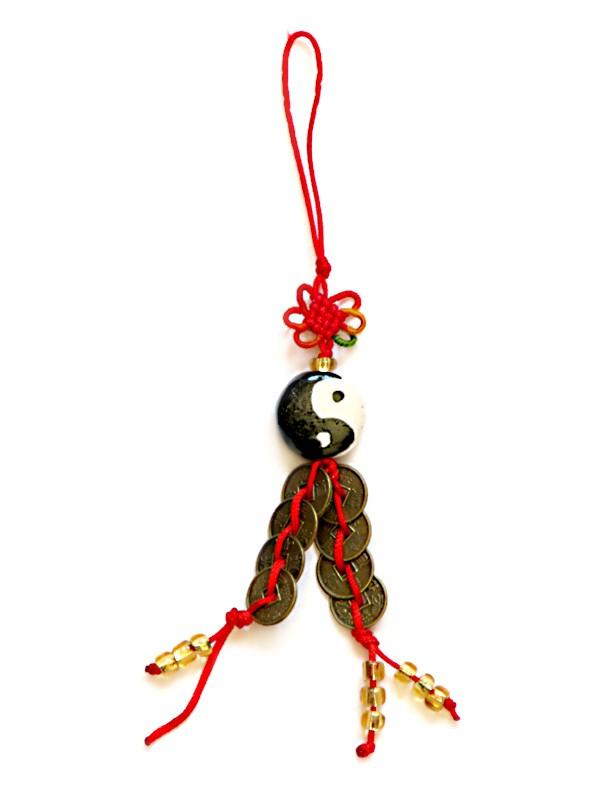 Amuleta Yin - Yang Pa Kua si Monede