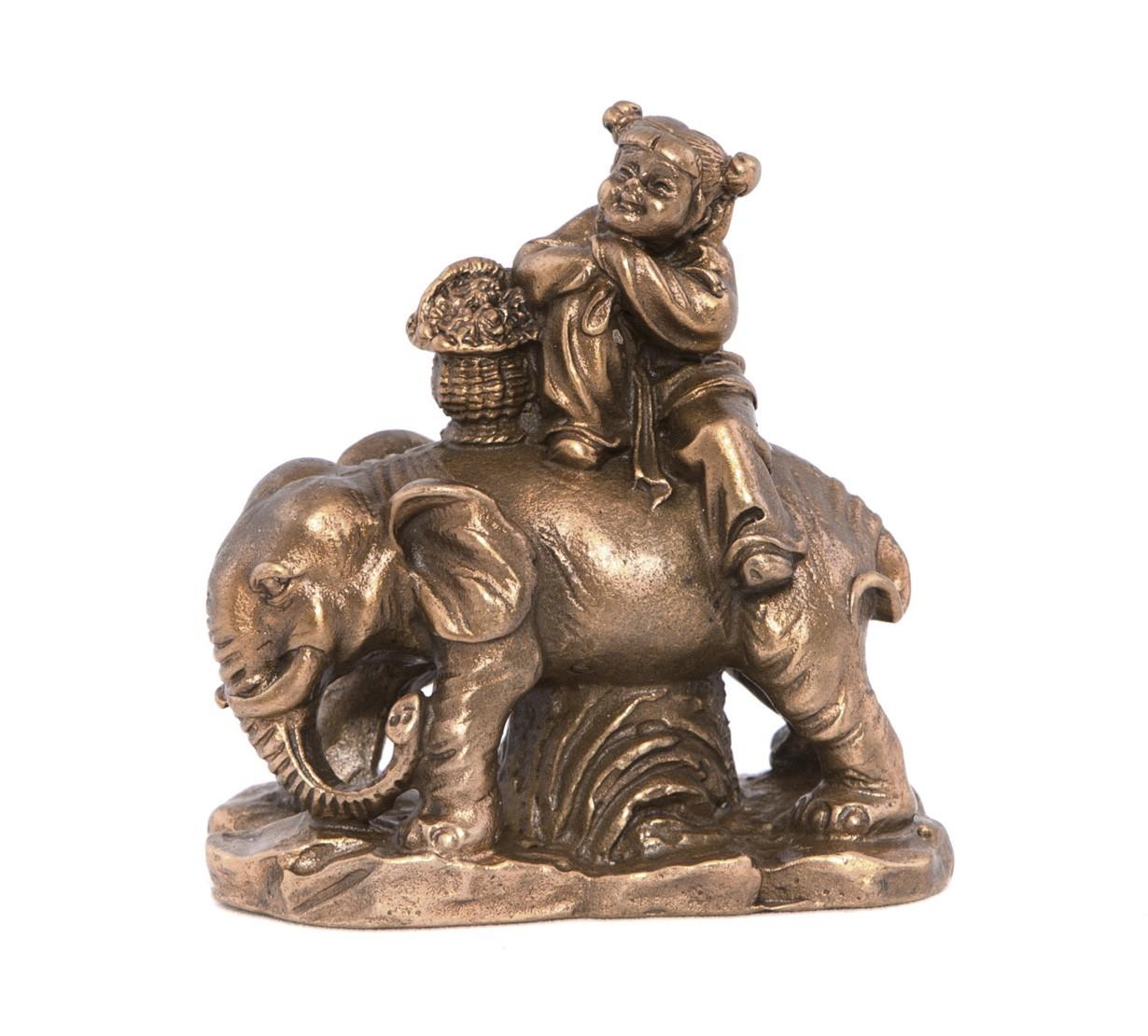 Lan Tsai Ho - Simbol al Norocului - bronz