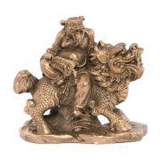 Chung - Li Chuan - Simbol al Longevitatii - bronz