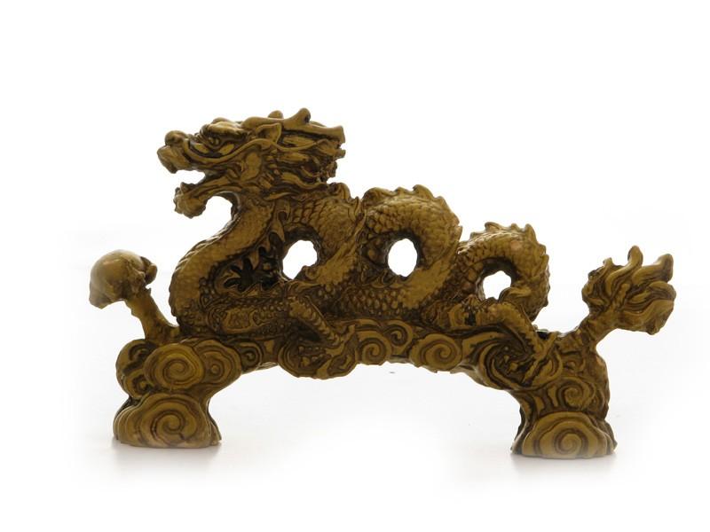Dragon Imperial cu Perla - stativ - marime medie