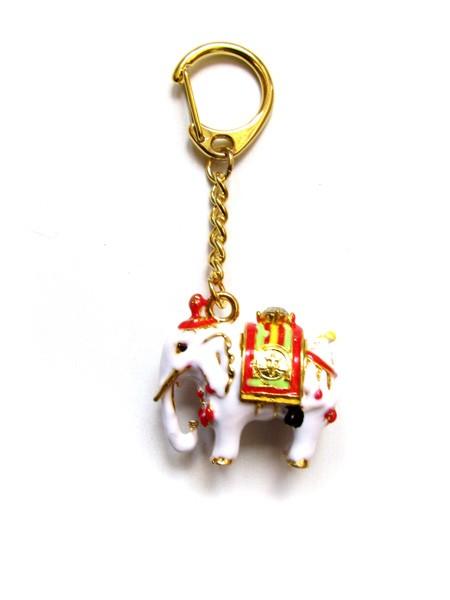 Breloc cu Elefant Protector - metal