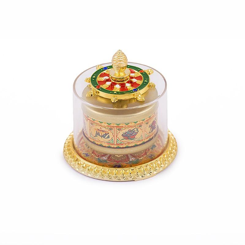Roata Dorintelor Tibetana cu Cele 8 Obiecte Norocoase