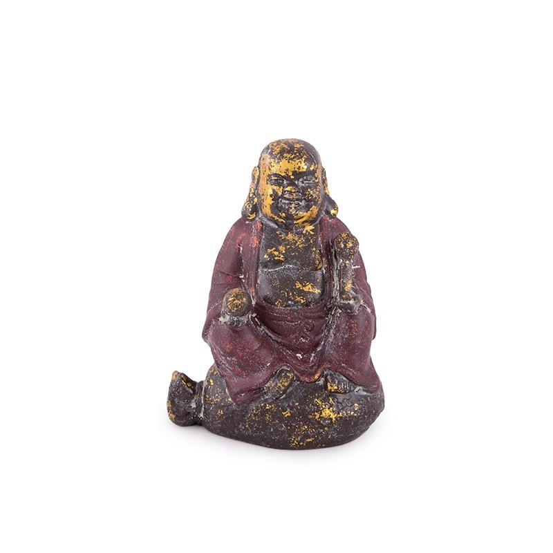 Buddha Vesel pe Sacul Prosperitatii cu Ru Yi