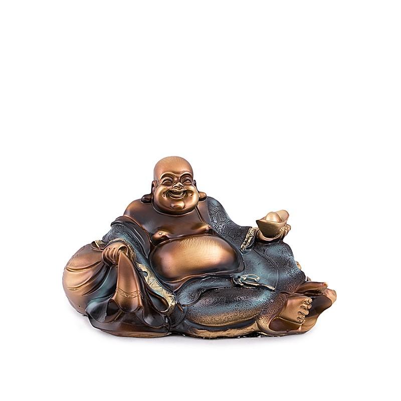 Buddha Vesel cu Sacul Bogatiei si Pepita