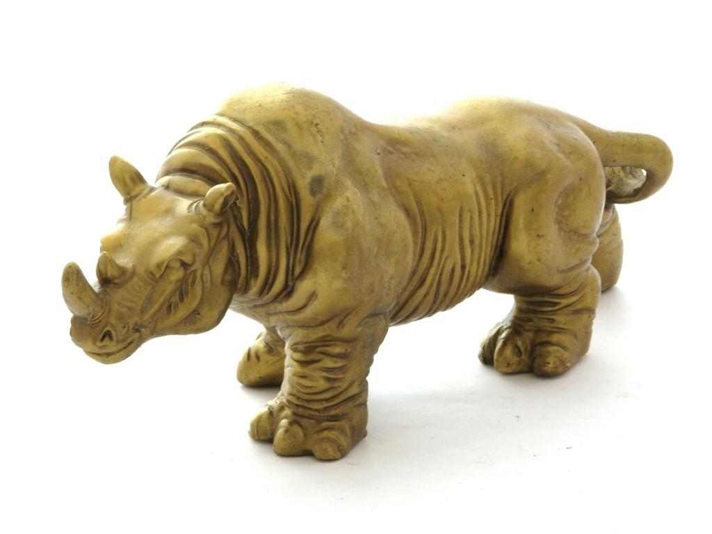 Rinocer - bronz - marime mare