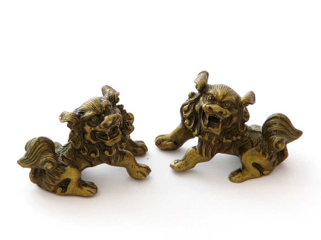 Lei Pazitori de Templu - bronz - marime mica