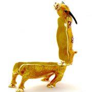 Caseta bijuterii Feng Shui cu Taurul Prosperitatii
