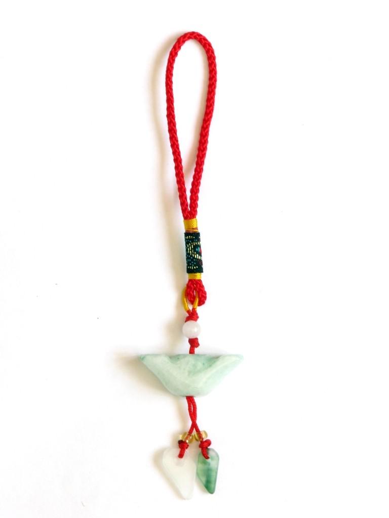 Amuleta Feng Shui cu Pepita jad - pentru bogatie