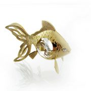 Peste cu Cristale Swarovski - placat cu Aur 24K