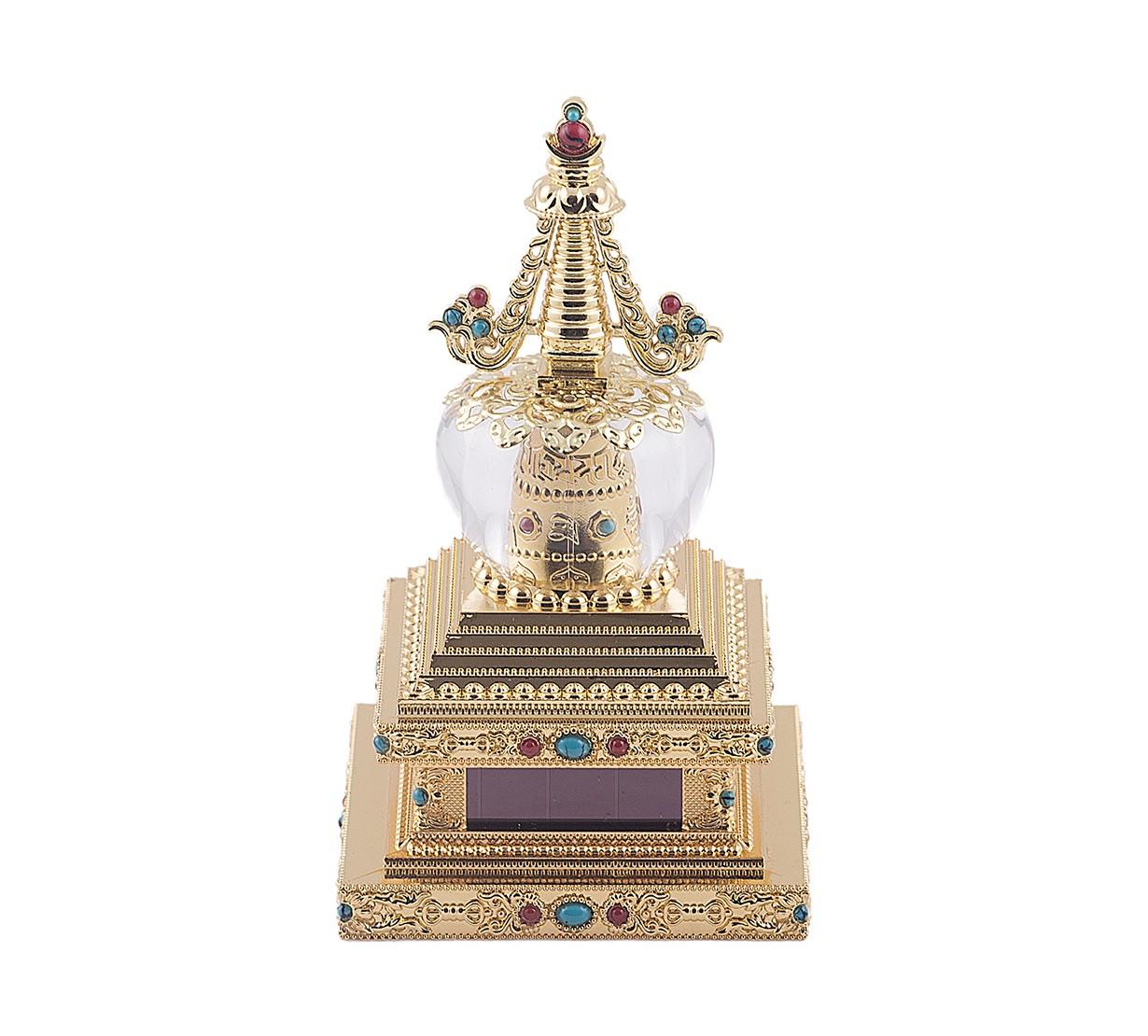 Stupa Tibetana a Elementului Pamant