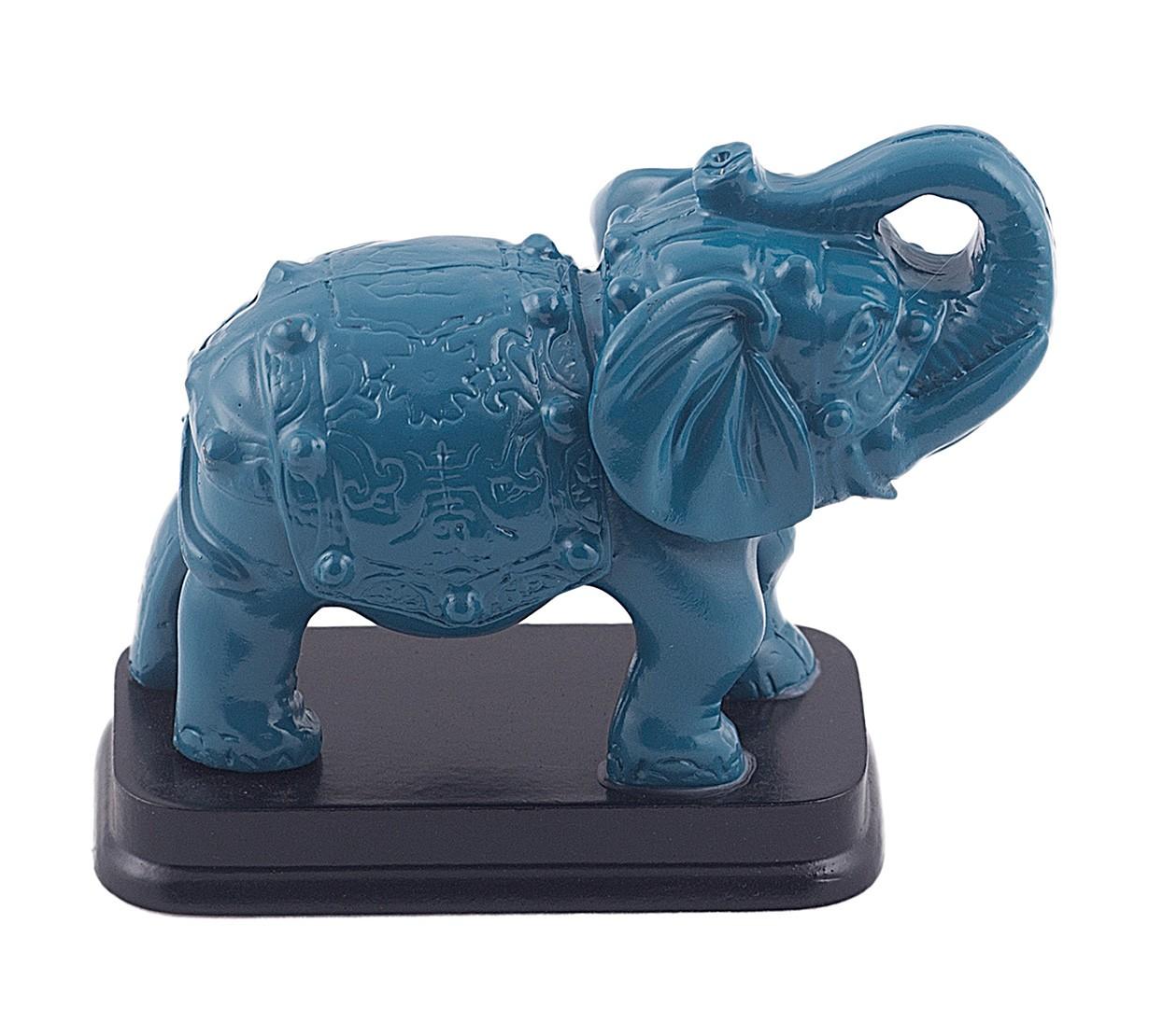 Elefant Albastru pe stativ