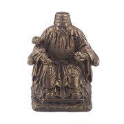 Tua Peh Kong cu Ru Yi si Pepita pe Tron - bronz