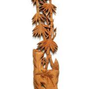 Tablou cu Bambusi - lemn