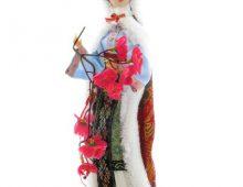 Xue Bao Qin - papusa traditionala chinezeasca - lucrata manual