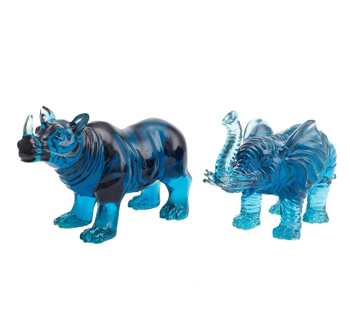 Elefant si Rinocer - marime medie