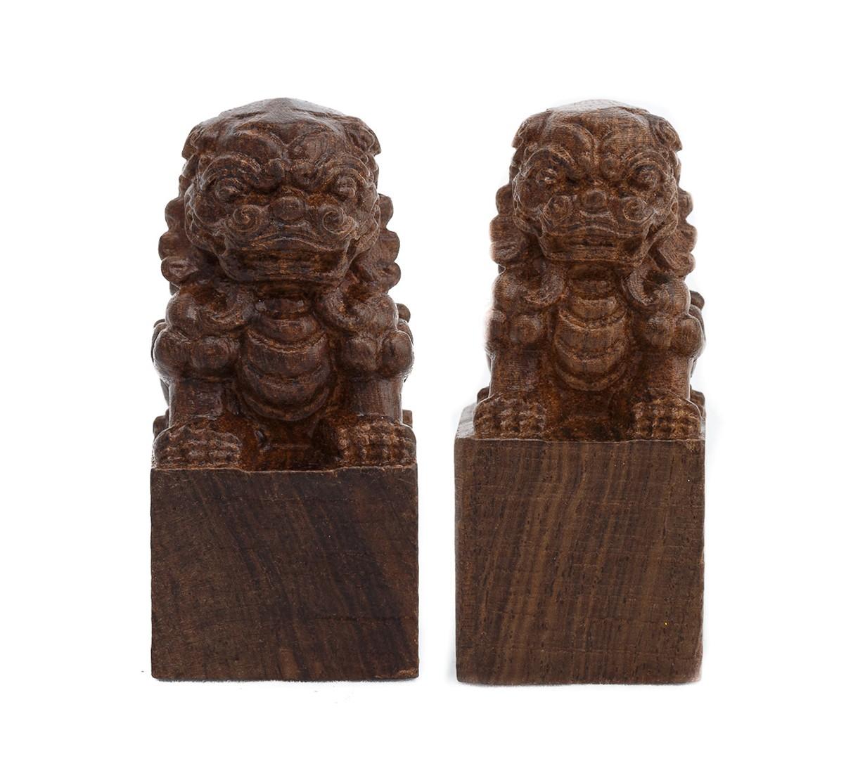 Caini Fu - lemn