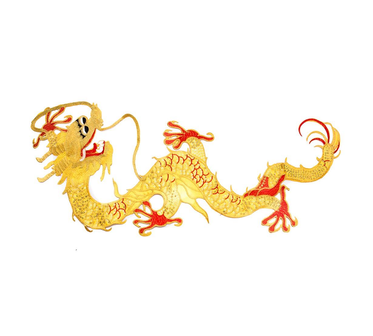 Dragon Norocos - accesoriu textil - model 2 - marime mare