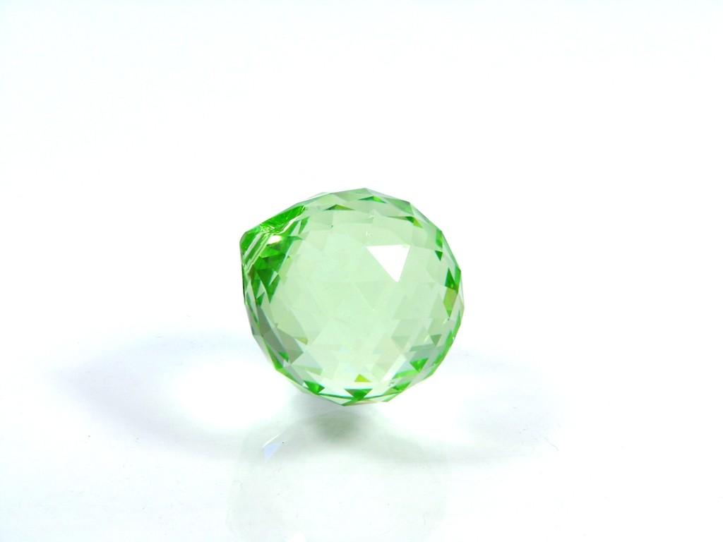 Sfera Cristal Swarowski - Light Peridot
