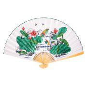 Evantai Feng Shui cu Rate Mandarine - marime mare