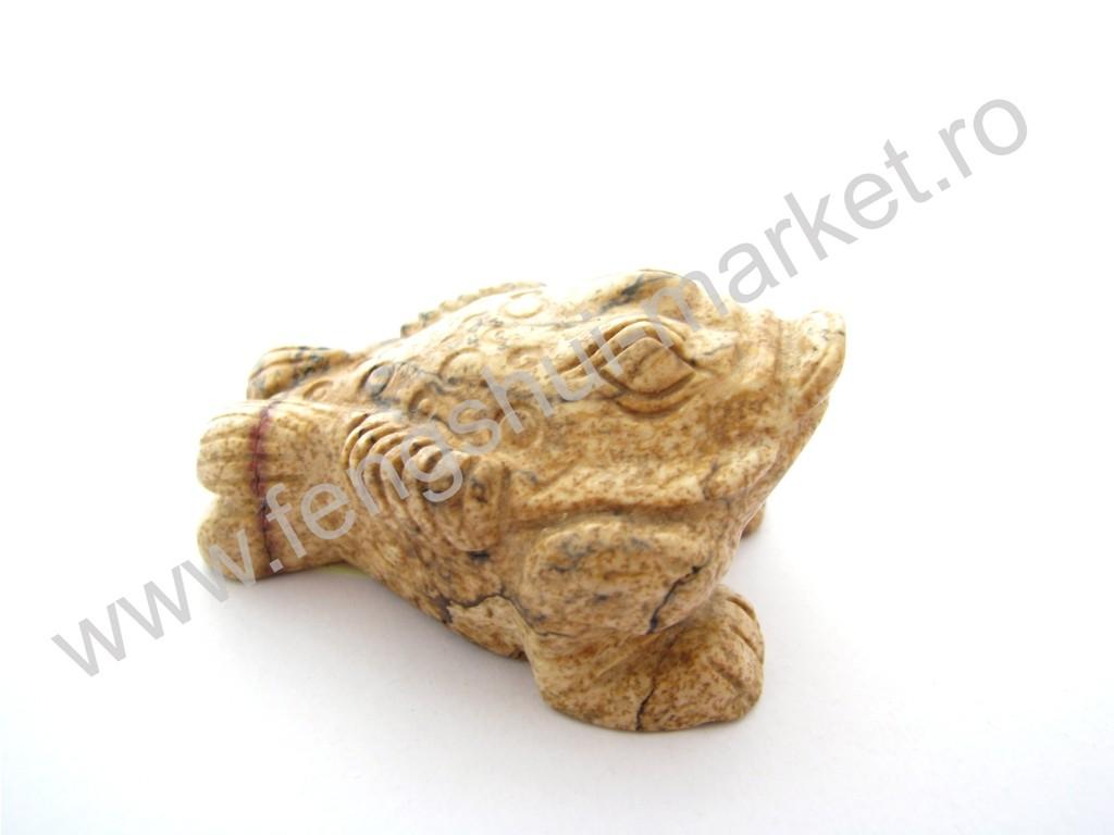 Broasca Norocoasa cu 3 Picioare - jasp