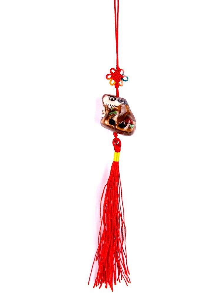 Amuleta Feng Shui cu Bivol - portelan