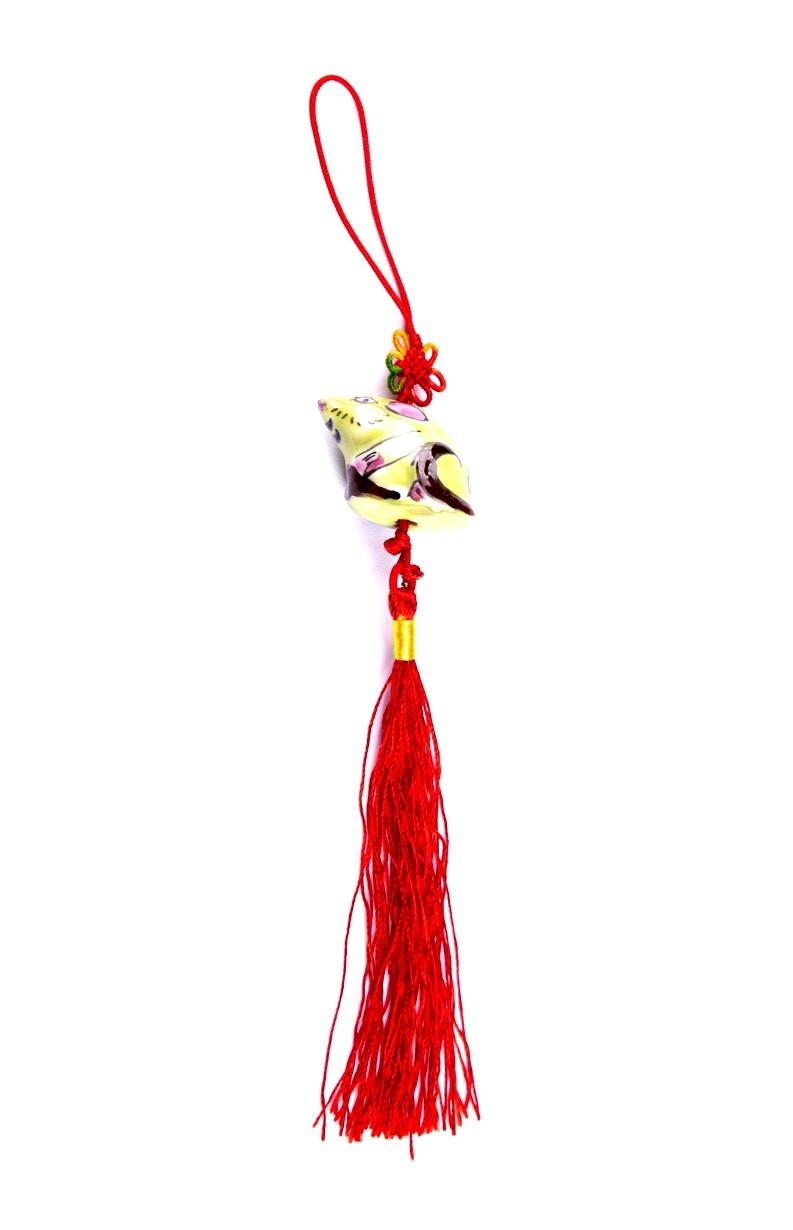 Amuleta Feng Shui cu Sobolan - portelan