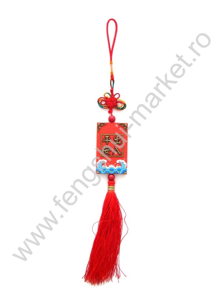 Amuleta Feng Shui cu Simboluri Chinezesti