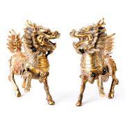 Chi Lin - marime medie - bronz