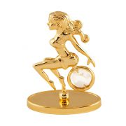 Fecioara cu Cristale Swarovski - placata cu Aur 24K