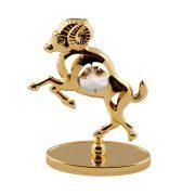 Berbec pe stativ cu Cristale Swarovski - placat cu Aur 24K