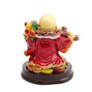 Buddha Vesel pe Monede cu Wu Lou , Sirag cu 3 Monede si Piersica Nemuririi