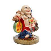 Buddha Vesel cu Sacul Bogatiei , Wu Lou si Monede I-Ching