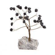 Copac Feng Shui cu cristale Onix pe suport Piatra - model unicat 2
