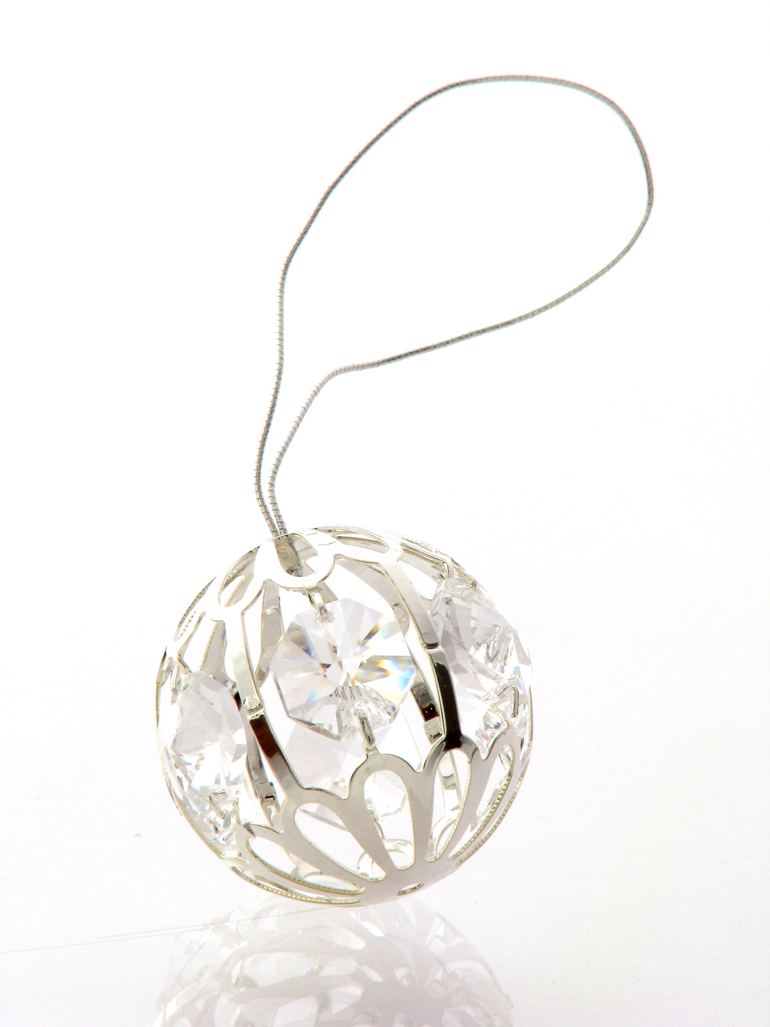 Glob cu cristale Swarovski - Argint 925