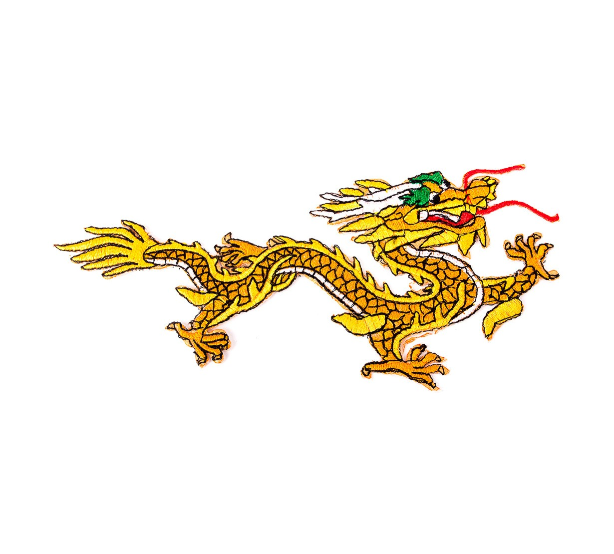 Dragon Norocos - accesoriu textil - marime mica