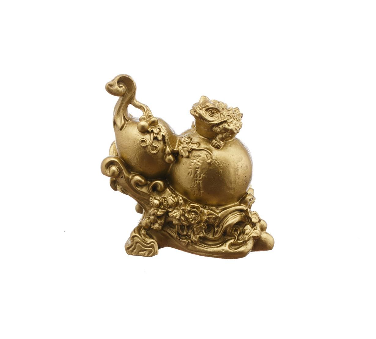 Wu Lou cu Broasca Norocoasa cu Trei Picioare