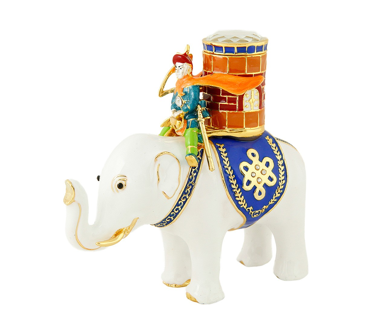 Elefant cu Luptator - metal